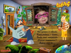 Convite Chaves 01