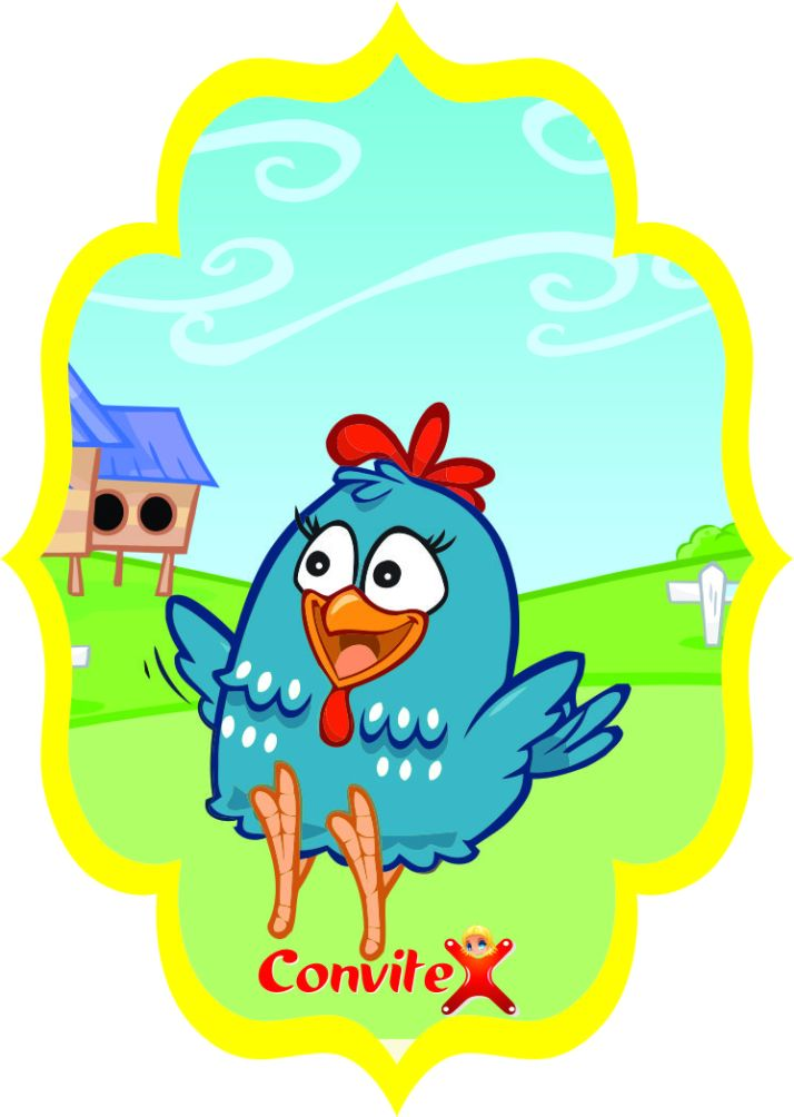 tag galinha Pintadinha 12 by convitex